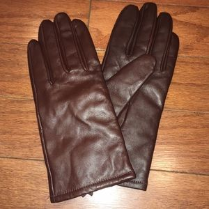A New Day  Faux Leather Gloves